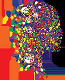logo icon of a head